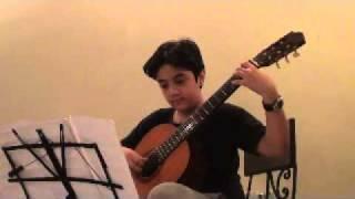 sorush yaqubi , 11 years old, from Iran , classic