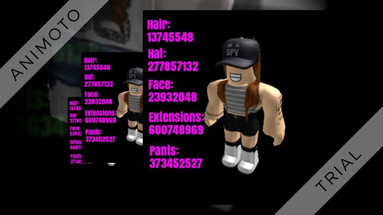 ROBLOX HIGH SCHOOL GIRL OUTFIT CODES! - YouTube