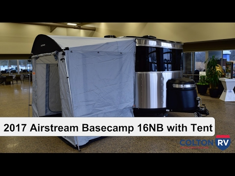 Fantastic 2017 Airstream Basecamp 16NB With Tent | Travel Trailer - YouTube