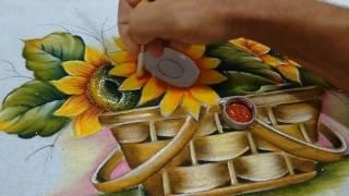 Roberto Ferreira – como pintar girassol