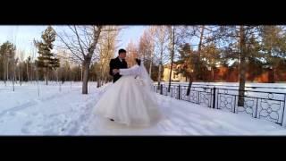 Красивое видео со свадьбы (Костанай. зима) S.class Studio