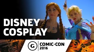 Disney Cosplay at Comic-Con 2016
