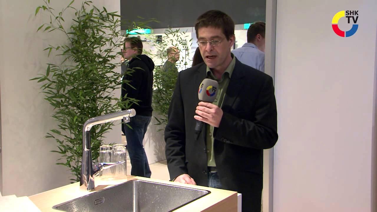 hansgrohe: küchenarmatur metris select - youtube - Hansgrohe Metris Küche