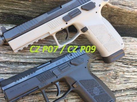 CZ P-07 vs CZ P-09