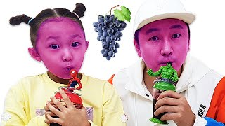 The medley of English Nursery rhymes for kids | Color fruit song By LoveStar