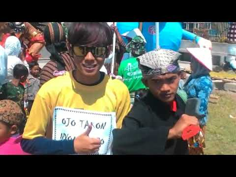 Upacara 17 agustus Desa Selokaton 2017