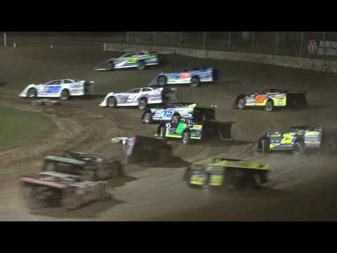 Plymouth Dirt Track World of Outlaw Late Model Feature Highlights July 29 2019. - dirt track racing video image