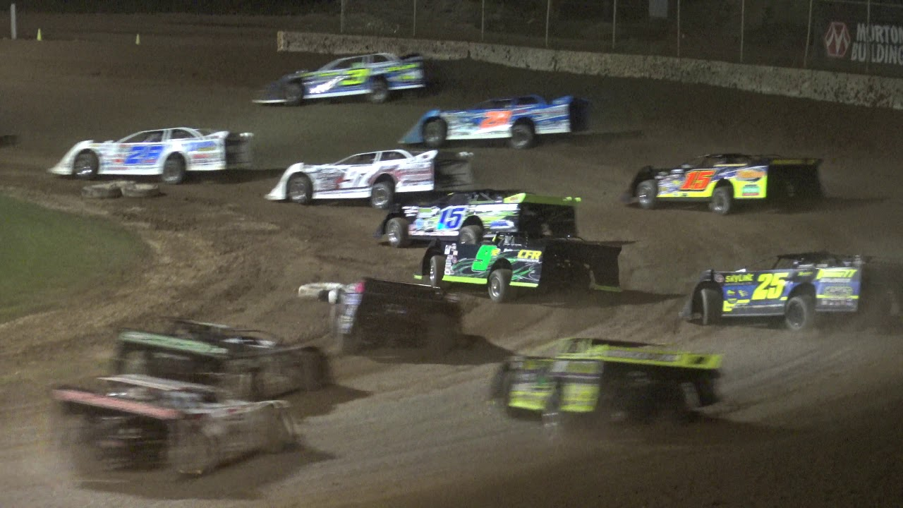 Plymouth Dirt Track World of Outlaw Late Model Feature Highlights July 29 2019