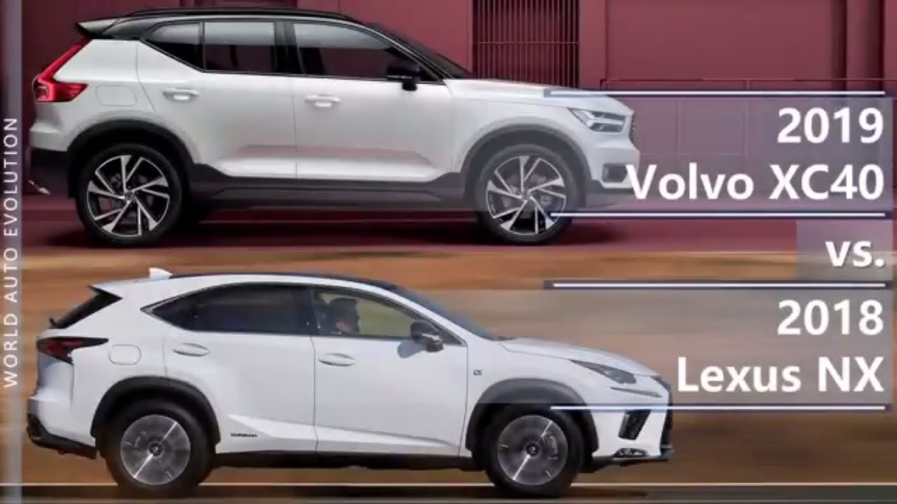 2019 volvo xc40 vs 2018 lexus nx technical comparison youtube. Black Bedroom Furniture Sets. Home Design Ideas