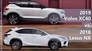 2019 Volvo XC40 vs 2018 Lexus NX (technical comparison)