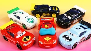 Download Disney Pixar Cars Lightning McQueen Dream 4 With Incredibles 2 Mr. Incredible Imaginext Batman Mp3 and Videos