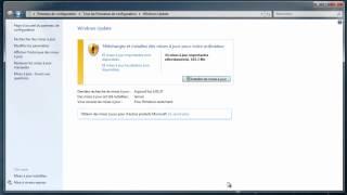 Comment désactiver les mises à jour automatiques sur Windows 7