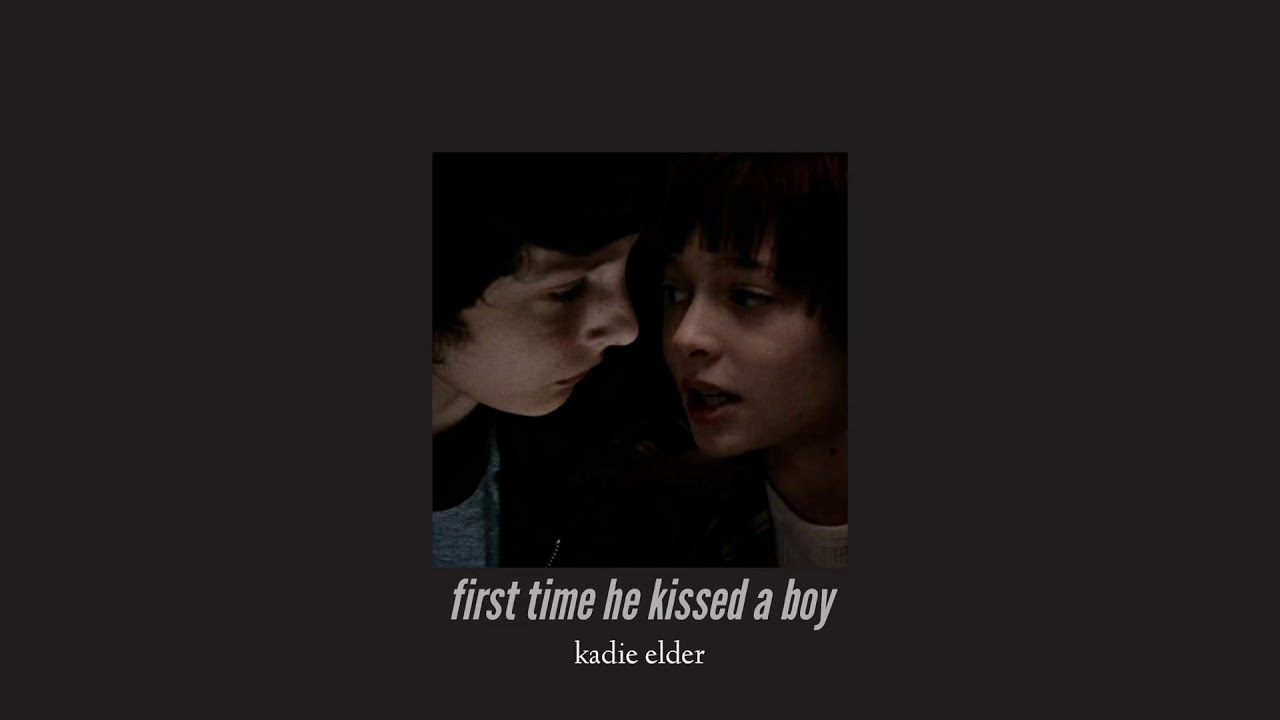 ( slowed down ) first time he kissed a boy - YouTube