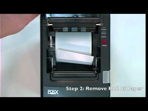 POS Thermal Receipt Printer Troubleshoot - Not Printing Evenly - YouTube