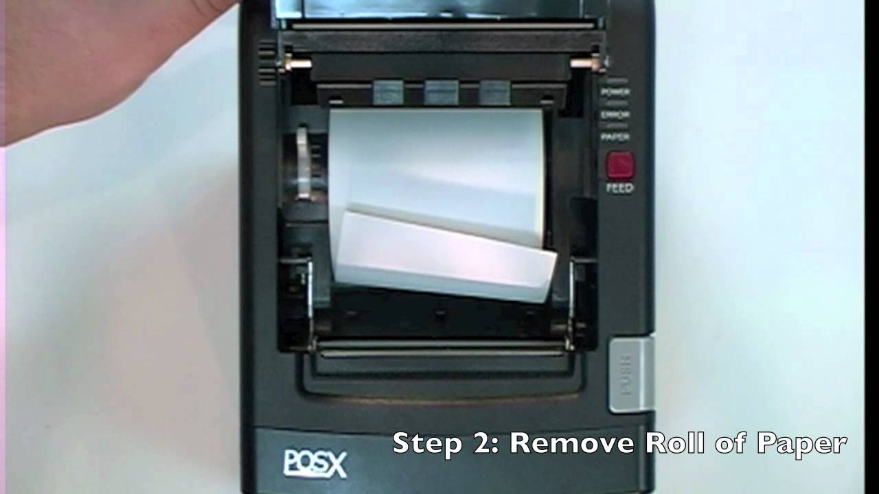 POS Thermal Receipt Printer Troubleshoot - Not Printing Evenly