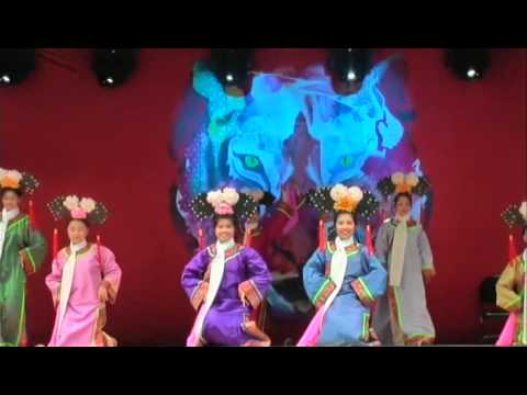 CYL 2010 Chinese Princess Qing Dynasty Dance - YouTube