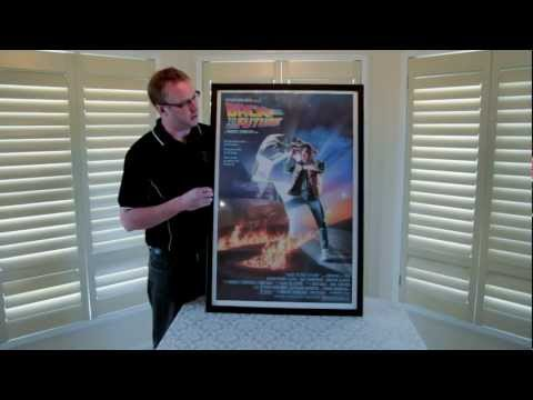 "New Movie Poster Snap Frame, Designed for collectors of movie posters 27""x41"""