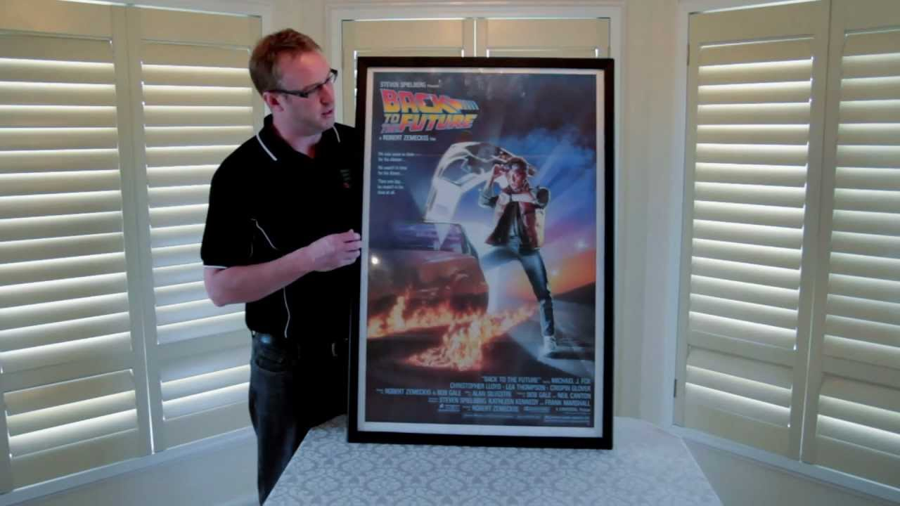 new movie poster snap frame designed for collectors of movie posters 27x41 youtube