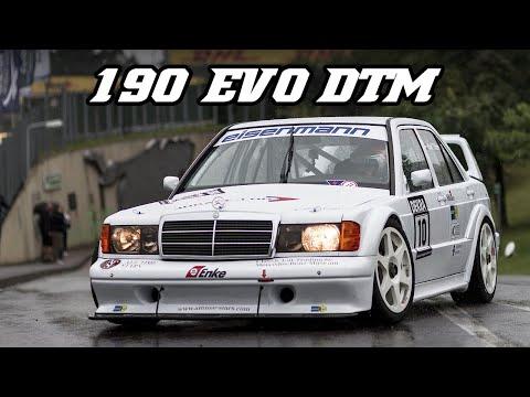 Mercedes-Benz 190e EVO 2 DTM - great intake sounds - YouTube
