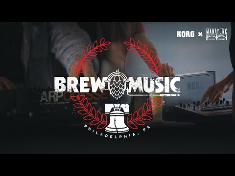 Brew Music with Korg: Manyunk Brewery, Philadelphia