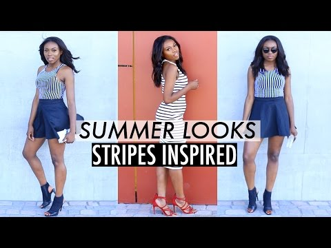 SUMMER OUTFITS 2015 STRIPES INSPIRED