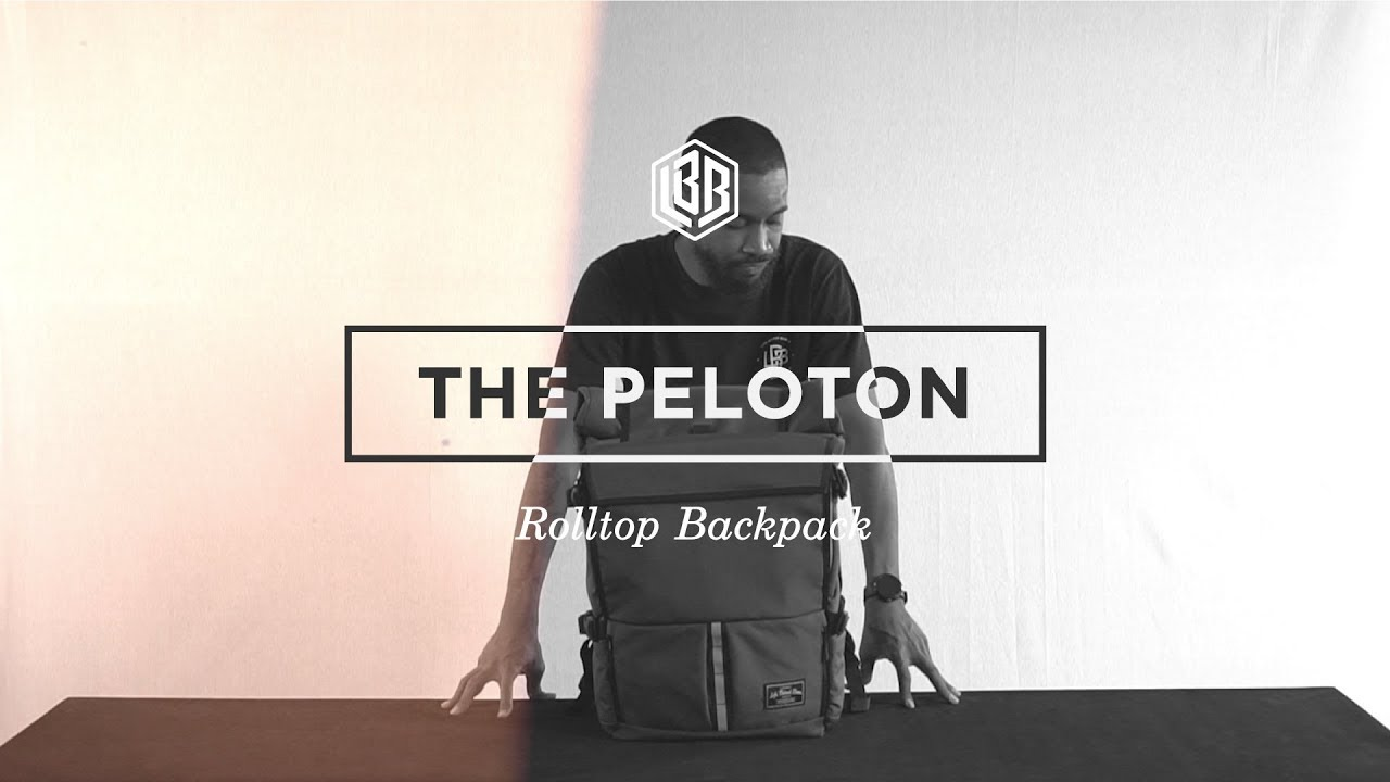 The Peloton Rolltop Backpack