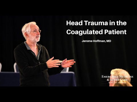 Head Trauma in the Coagulated Patient | EM & Acute Care Course