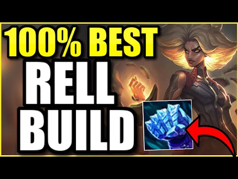 (HIGH ELO) THIS IS 100% BEST RELL SUPPORT BUILD FOR SEASON 11! (INSANE GAME)