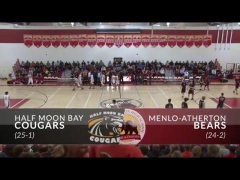 2016 PAL High School Basketball Tournament - Boys Final - Menlo-Atherton vs. Half Moon Bay