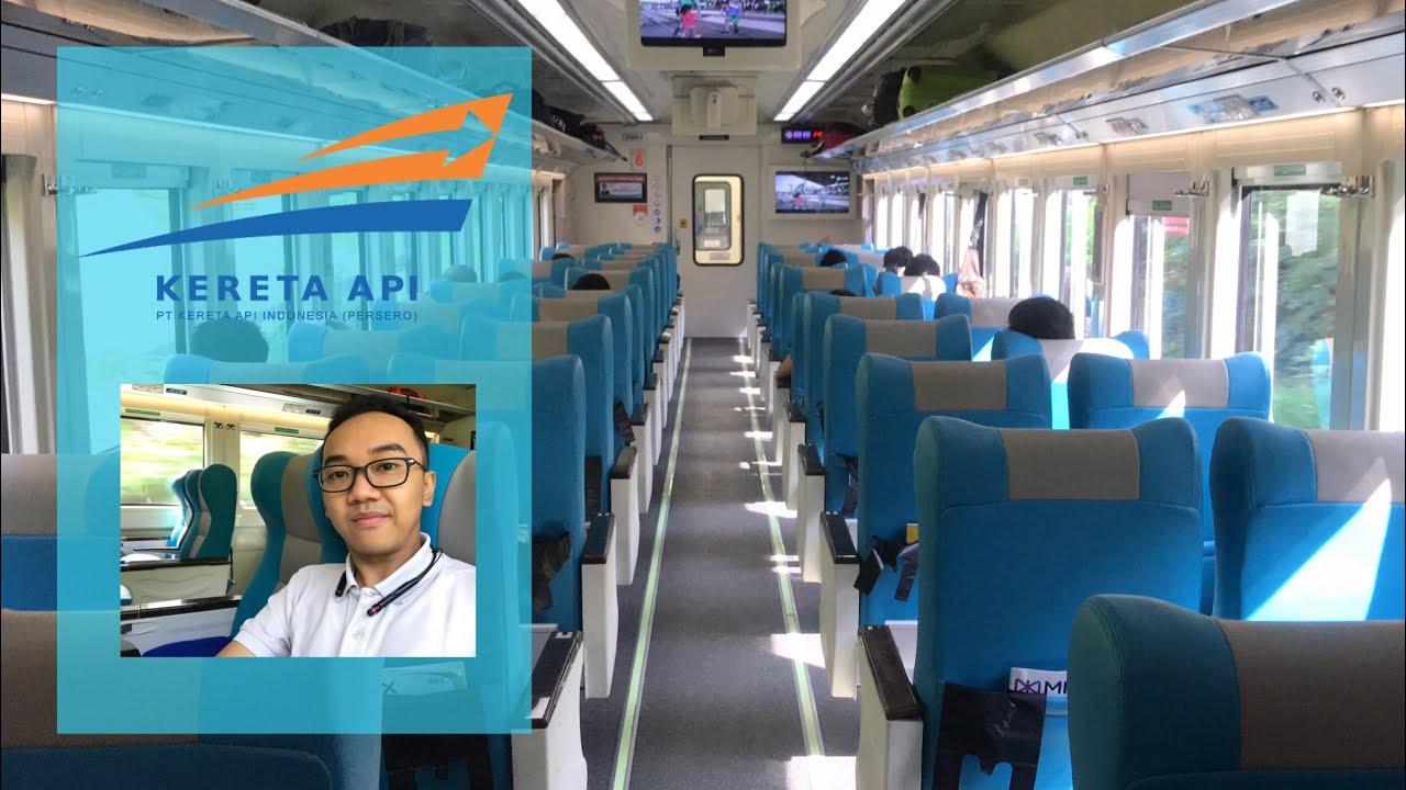 ilustrasi penampakan gerbong dalam Kereta Api Argo Parahyangan kelas eksekutif