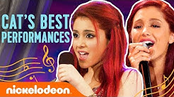 Ariana Grande's BEST Musical Performances as Cat Valentine! 🎤 | Nick