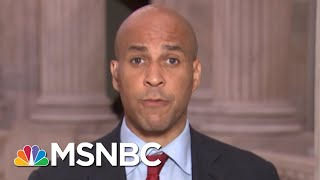 Senator Cory Booker Blasts SCOTUS Hearing | All In | MSNBC