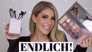 The Dark Side Swatches & mein Pinselset! 🖤💜 | MRS BELLA