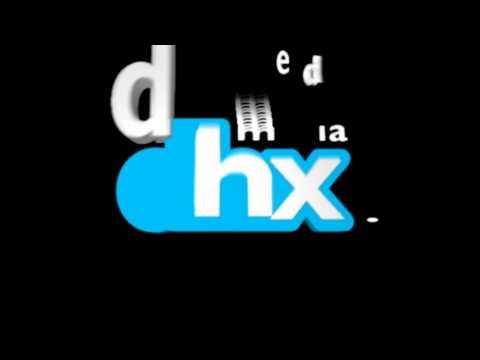 DHX media Logo BLACK