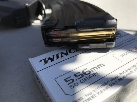 5.56x45mm, 50gr Frangible (USA556JF), Winchester Ammunition
