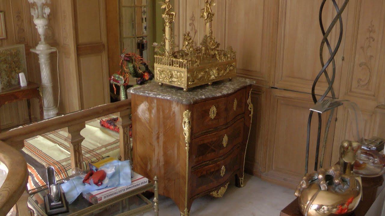 Come restaurare un mobile antico e pulitura del bronzo e - Restaurare un mobile in legno ...