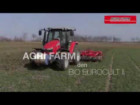 AGRI FARM Leichtgrubber BIO EUROCULT II 5m | Der Leichtgrubber ohne Walze!