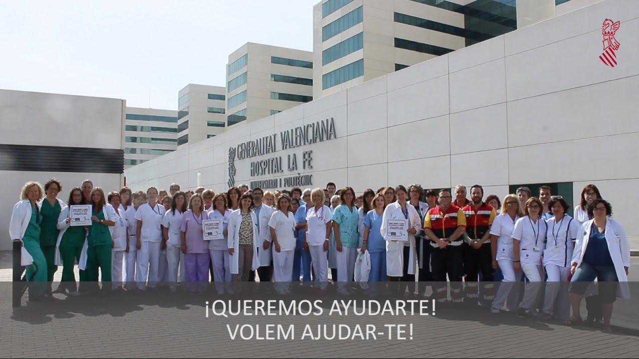 Video del departament la fe contra la violencia de g nero - Hospital nueva fe valencia ...