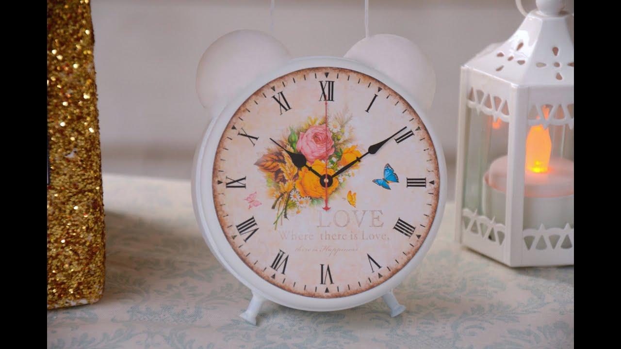 Reloj vintage decorativo youtube - Reloj decorativo de pared ...