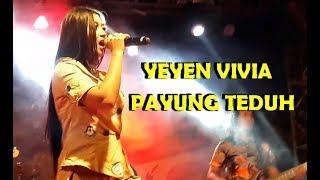 Payung Teduh Akad Cover YEYEN VIVIA ( Goyang HOT ) LIVE SUNCITY MADIUN