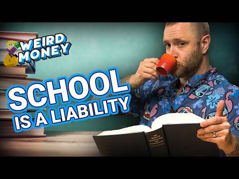Higher Education Is A Financial Liability (WEIRD MONEY)