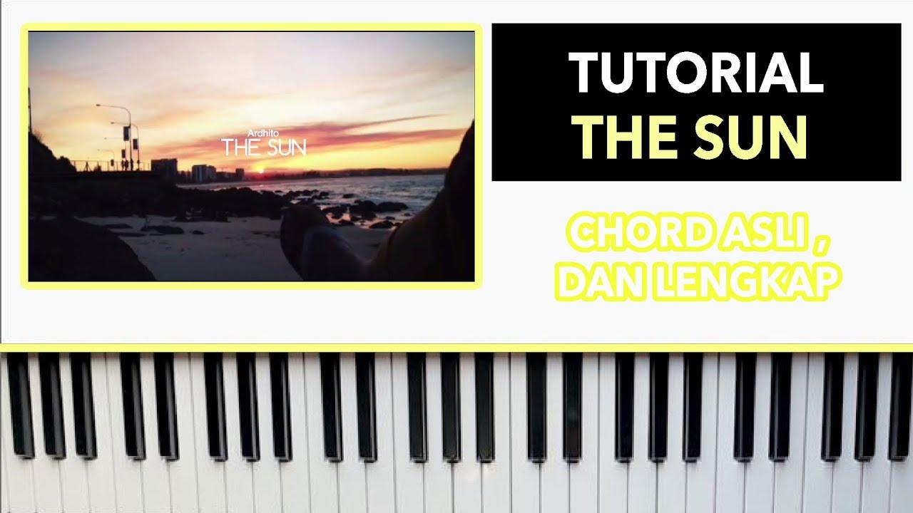 The Sun   Ardhito Pramono   PIANO tutorial by rafly
