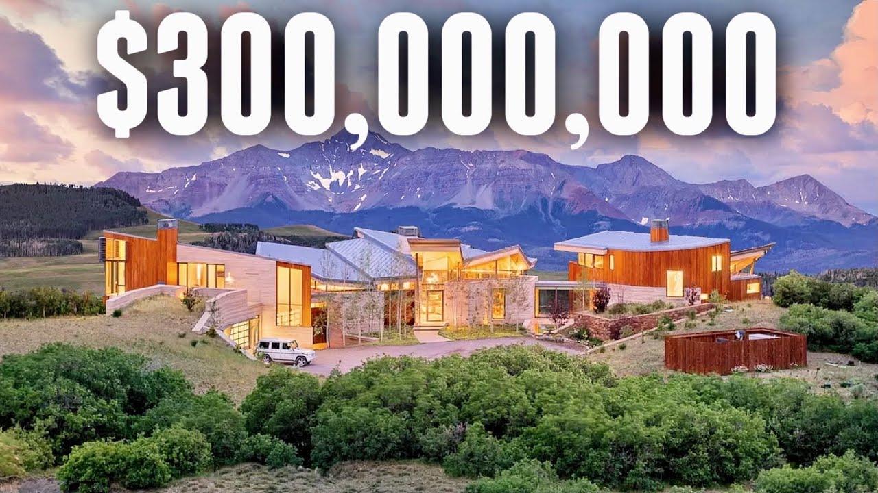 Touring $300,000,000 of Luxury Colorado Real Estate | Mega Mansion VLOG