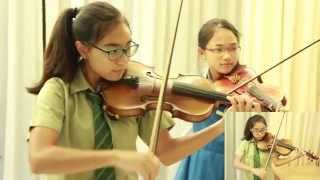 Home - Singapore NDP Song - Note & Pin - Violins & Piano (โน้ต & พิณ)