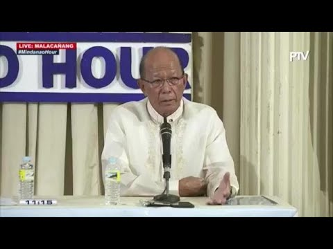 Lorenzana on nationwide declaration of martial law: 'Remote possibility'