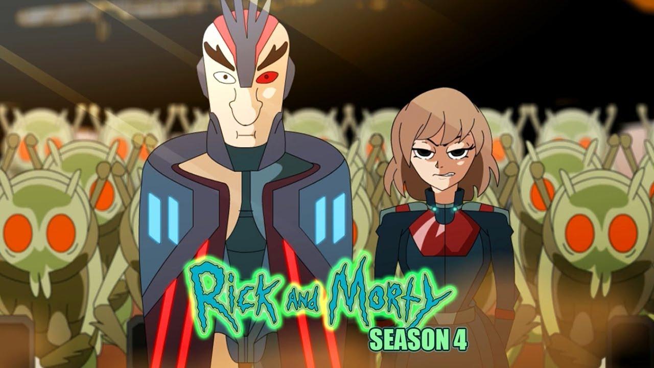 Rick and Morty Season 4 opening (anime parody)