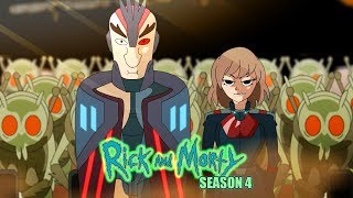 Rick and Morty Season 4 opening (anime parody)