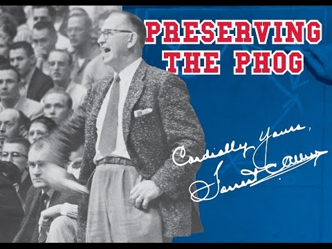 Cordially Yours, Forrest Allen: Preserving The Legacy Of The Phog