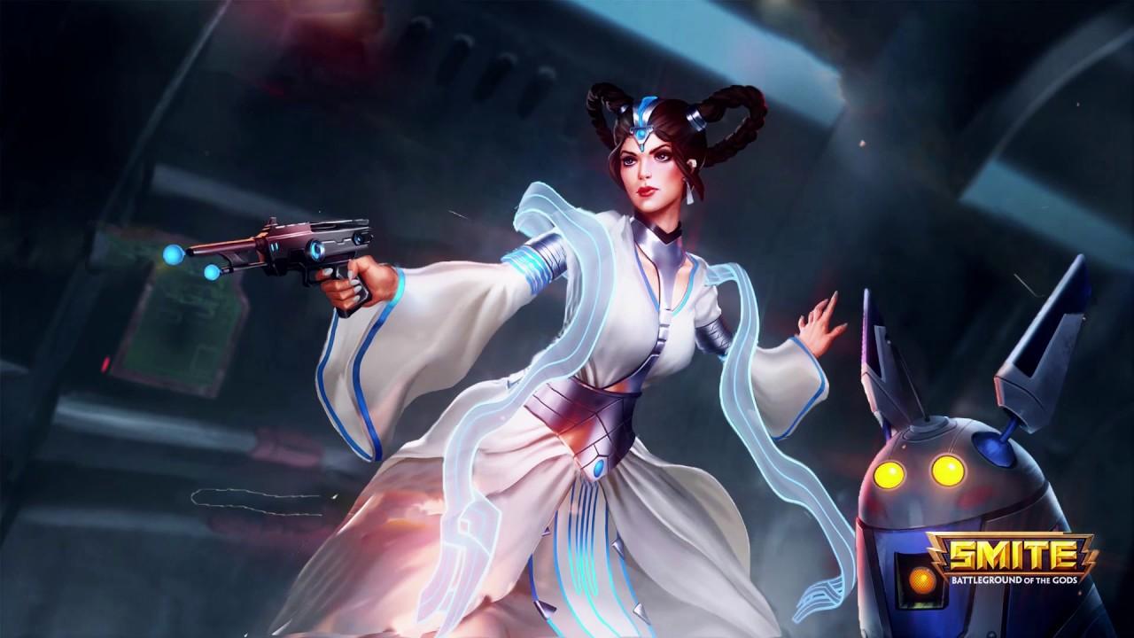 "Chang'e StarWars ""Intergalactic"" Animated Wallpaper/Login Screen by LEAFRETV"