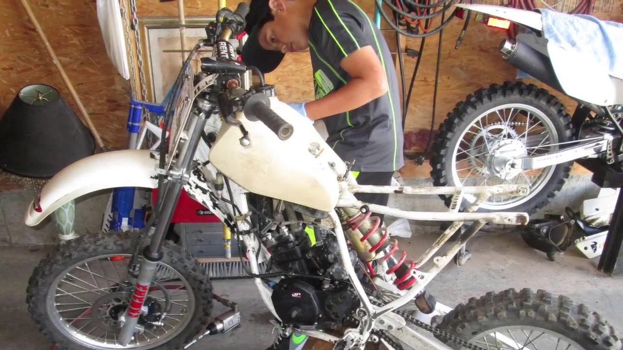 1987 Yamaha Yz 80 Restoration Project